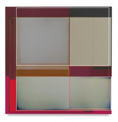 Improvise, 2016, Acrylic on canvas, 22 x 22 inches, 55.9 x 55.9 cm, AMY#28501