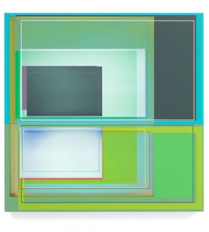 Green Dream, 2014, Acrylic on canvas, 22 x 22 inches, 55.9 x 55.9 cm, A/Y#22335