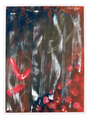 Untitled, 2015, Mixed media on paper, 30 x 22 inches, 76.2 x 55.9 cm, MMG#27861