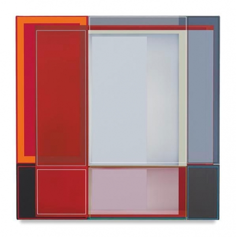 Build, 2016, Acrylic on canvas, 22 x 22 inches, 55.9 x 55.9 cm, AMY#28424