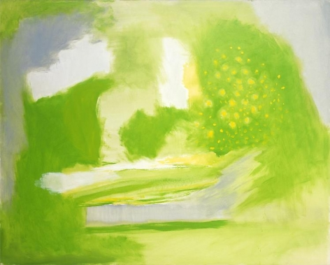 Garden, 1998, Oil on canvas, 42 x 52 inches, 106.7 x 132.1 cm, A/Y#4742