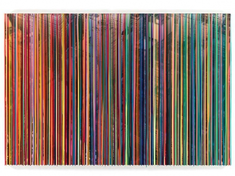 Markus Linnenbrink, POISONTHESTREETS, 2013, Epoxy resin and pigments on wood, 60 x 90 inches, 152.4 x 228.6 cm, A/Y#21348
