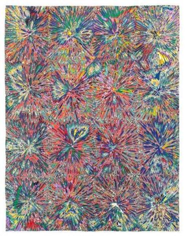 Untitled #9, 2015, Acrylic on wood panel, 18 x 14 inches, 45.7 x 35.6 cm, A/Y#22457