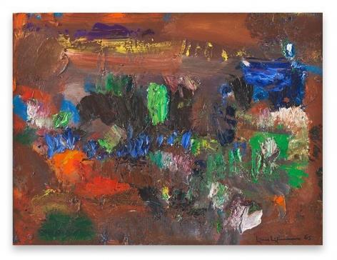 Hans Hofmann, The Oasis, 1965, Oil on board, 24 x 32 inches, 61 x 81.3 cm, AMY#28099