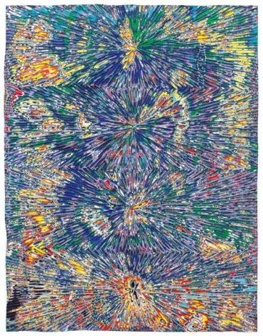 Untitled #4, 2015, Acrylic on wood panel, 18 x 14 inches, 45.7 x 35.6 cm, A/Y#22323