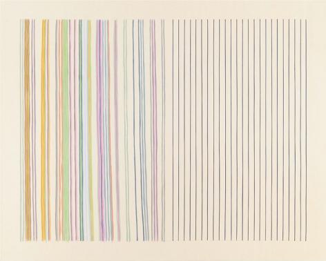 """""""Mirror,"""" 1977, Acrylic on canvas, 91 x 113 1/2 inches, 231.1 x 288.3 cm, A/Y#19543"""