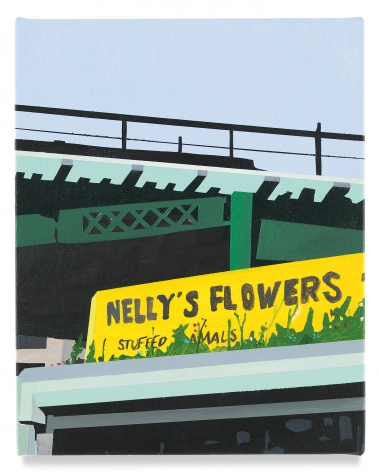 Brian Alfred, Nelly's Flowers, 2019, Acrylic on canvas
