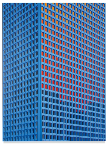 Tower, Houston, 2020, Acrylic on dibond, 78 3/4 x 59 inches, 200 x 150 cm, MMG#32185