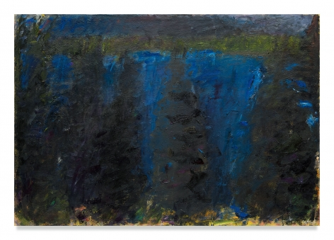 Dark Penobscot, 1962, Oil on canvas, 28 1/2 x 41 inches, 72.4 x 104.1 cm, MMG#29991