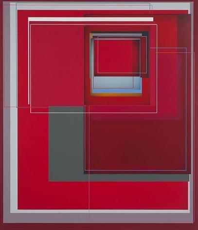 """Red Emperor,"" 2011, Acrylic on canvas, 66 x 57 inches, 167.6 x 144.8 cm, A/Y#19904"