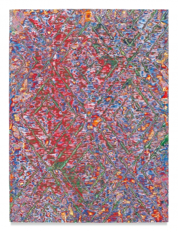 Untitled #4, 2019,Acrylic on panel,48 x 36 inches,121.9 x 91.4 cm,MMG#31029