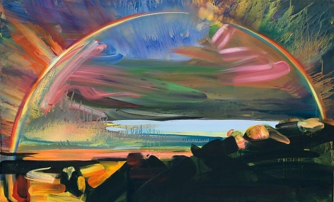 """""""Bow 5,"""" 2011, Oil on canvas, 29 x 48 inches, 73.7 x 121.9 cm, A/Y#19943"""