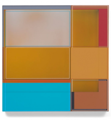 Beer Garden, 2015, Acrylic on canvas, 22 x 22 inches, 55.9 x 55.9 cm, A/Y#22341