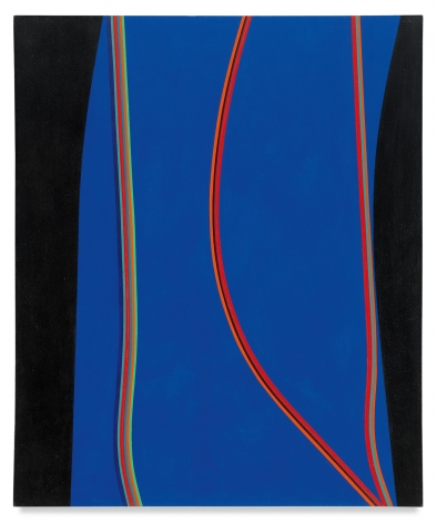 Lorser Feitelson,Untitled (February 10), 1965,Oil on canvas,60 x 50 inches,152.4 x 127 cm,MMG#31571