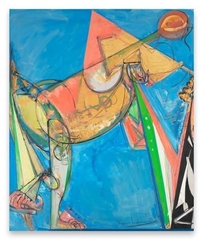 Hans Hofmann, Perpetuita, 1951, Oil on canvas, 72 x 60 inches, 182.9 x 152.4 cm, AMY#1724
