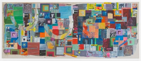 alexanderstudio, 2017, Acrylic on canvas, 36 1/4 x 88 inches, 92.1 x 223.5 cm, MMG#29154