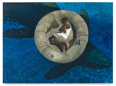 El Sueño de la Razon, 2016, Oil on canvas, 72 x 98 inches, 182.9 x 248.9 cm, MMG#29875
