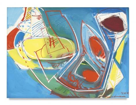 Obliquité, 1947,Oil on canvas,30 1/2 x 41 inches,77.5 x 104.1 cm,MMG#1806