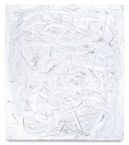 Eyes I, 2017, Oil on linen, 80 x 70 inches, 203.2 x 177.8 cm, MMG#29651