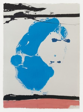 Robert Motherwell, Untitled, 1966, Acrylic on paper, 30 1/2 x 22 1/4 inches, 77.5 x 56.5 cm, AMY#27997
