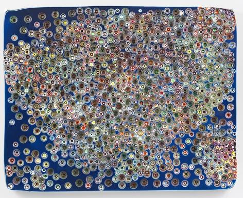 Markus Linnenbrink,FLYFLYFLYFLYFLYFLYFLYTRYTRYTRYTRY..., 2018,Epoxy resin and pigments on wood,48 x 60 inches,121.9 x 152.4 cm, MMG29756