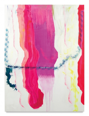 Monique van Genderen, Untitled, 2017, Oil and pigment on linen