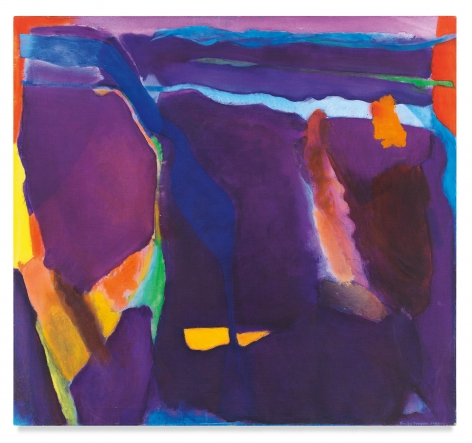 July's Amethyst, 1982, Oil on canvas, 48 1/4 x 52 1/4 inches, 122.6 x 132.7 cm, MMG#32721
