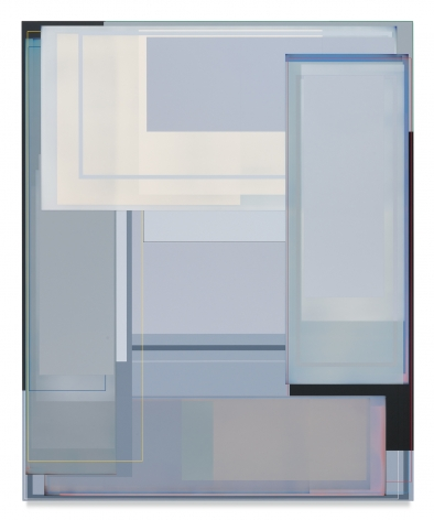 Patrick Wilson, Large Weather Event, 2018, Acrylic on canvas, 86 x 70 inches