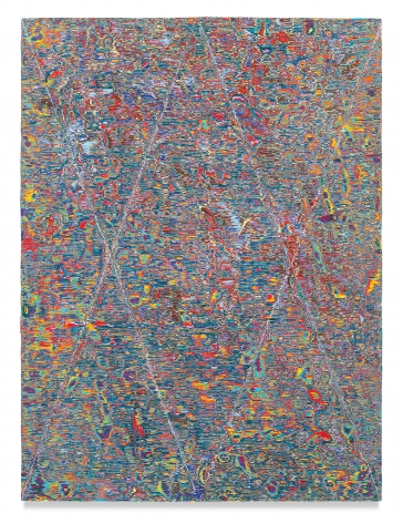 Untitled #19, 2017, Acrylic on panel, 48 x 36 inches, 121.9 x 91.4 cm, MMG#29672