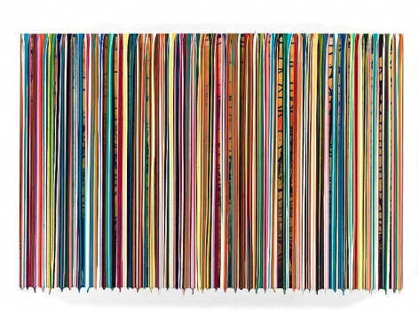 Markus Linnenbrink, THATTHINGISUP, 2014, Epoxy resin and pigments on wood, 24 x 36 inches, 61 x 91.4 cm, A/Y#21859