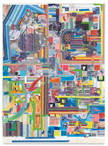 franklinfootpaths15to20, 2020, Acrylic on canvas, 78 x 57 1/8 inches, 198.1 x 145.1 cm,MMG#33052