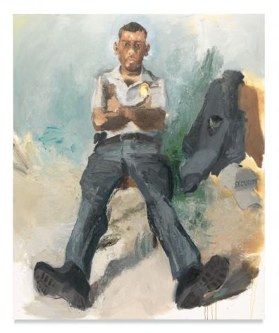 John Sonsini, Roger, 2014/2019, Oil on canvas, 72 x 60 inches, 182.9 x 152.4 cm