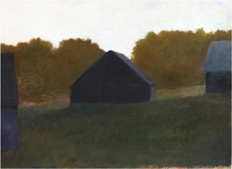 Adams Farm, Evening IV, 1976, Oil on canvas, 44 x 60 inches, 111.8 x 152.4 cm, A/Y#21504