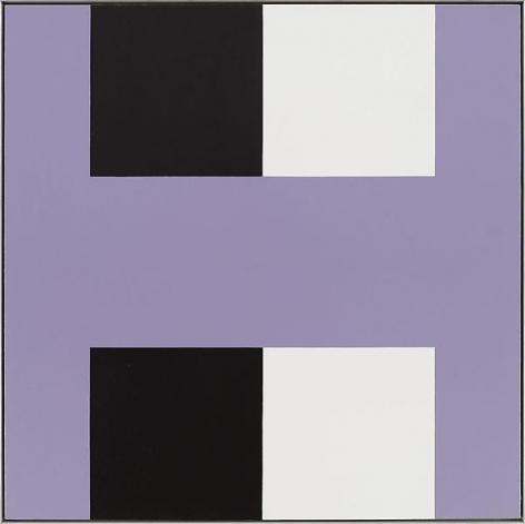 """Savoir pair,"" Oil on linen, 49 x 49 inches, 124.5 x 124.5 cm, A/Y#19133"