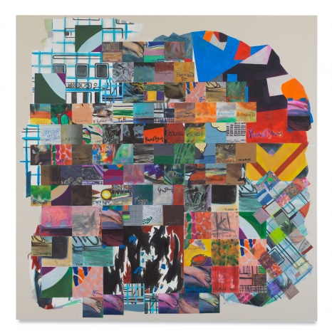 Franklin Evans, signpaint, 2017, Acrylic on canvas