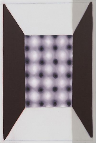 """620 (Motion Illusion),"" 2011, Oil on linen, 30 x 20 inches, 76.2 x 50.8 cm, A/Y#20572"