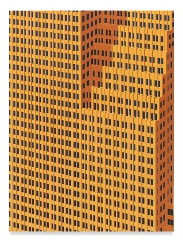 Houston, 2019,Acrylic on dibond,31 5/8 x 23 5/8 inches,80.3 x 60 cm,MMG#31503