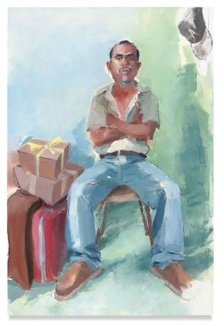John Sonsini, Miguel Antonio, 2018, Oil on canvas, 72 x 48 inches, 182.9 x 121.9 cm