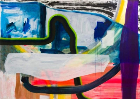 Untitled, 2014, Oil on linen, 100 x 140 inches, 254 x 355.6 cm, A/Y#21523