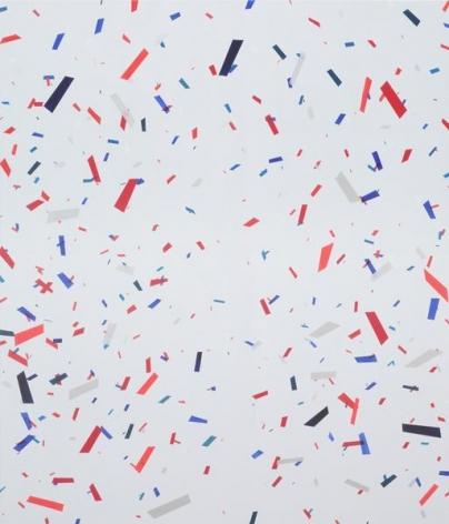 Confetti, 2015, Acrylic on canvas, 84 x 72 inches, 213.4 x 182.9 cm, A/Y#22237