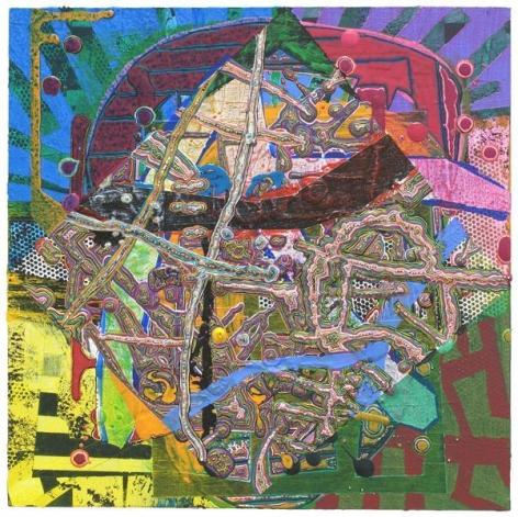 Steven Charles, 1971, 2014, Acrylic on wood, 10 x 10 inches, 25.4 x 25.4 cm, A/Y#21843