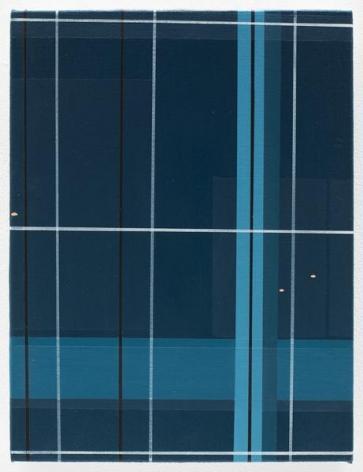 Brian Alfred, NZCA Windows, 2016, Acrylic on canvas, 12 x 9 inches, 30.5 x 22.9 cm, AMY#28140