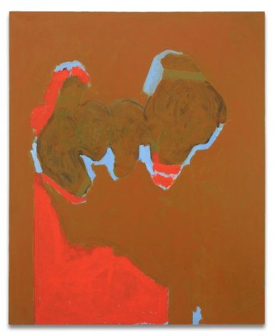 Robert Motherwell, Remembering Madrid, Alternative Title: Open No. 106, 1969/1974-80, Acrylic and charcoal on canvas, 72 x 59 inches, 182.9 x 149.9 cm, MMG#21936,