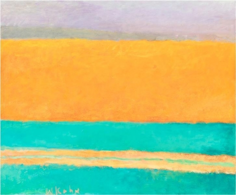 Orange Reflected, 1994, Oil on canvas, 28 x 34 inches, 71.1 x 86.4 cm, A/Y#10921