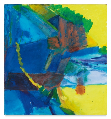 My Iris, 1984 - 1985, Oil on canvas, 52 x 48 inches, 132.1 x 121.9 cm, MMG#32737