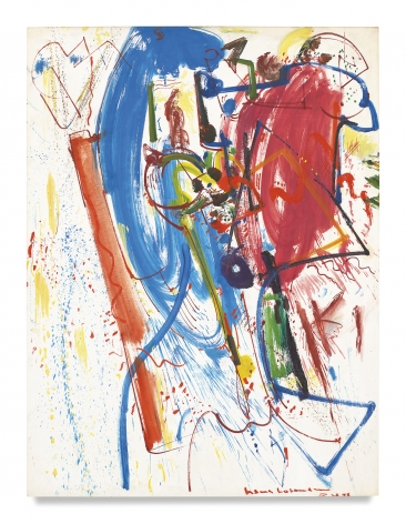 Hans Hofmann, La Révision, 1946, Oil on panel, 41 1/2 x 32 1/2 inches, 105.4 x 82.6 cm, MMG#1477,