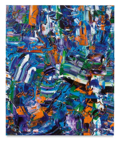 MICHAEL REAFSNYDER, Cool the Jets, 2019, Acrylic on linen, 72 x 60 inches, 182.9 x 152.4 cm,(MMG#31626)