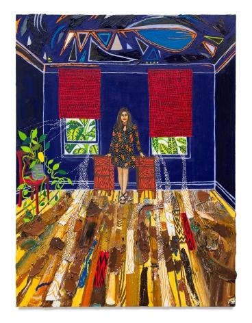 Raffi Kalenderian,Christine Minas, 2021, Oil on canvas, 48 x 36 inches, 121.9 x 91.4 cm,MMG#33012