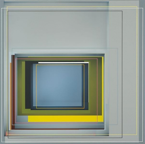 """""""Here's to life,"""" 2010, Acrylic on canvas, 22 x 22 inches, 55.9 x 55.9 cm, A/Y#19639"""