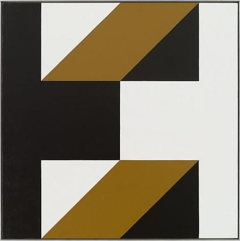 """In two the fray,"" Oil on linen, 45 x 45 inches, 114.3 x 114.3 cm, A/Y#19077"